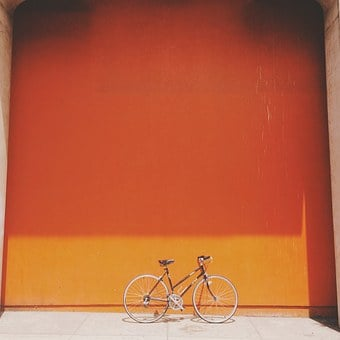 Bike, Wall, Bicycle, Cycle, Urban, Style, Street