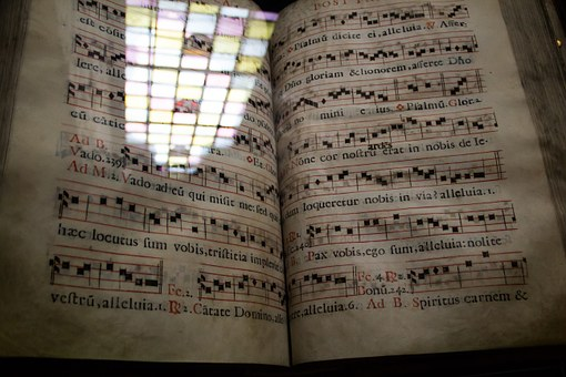 Book, Songbird, Music Book, Ancient Times, Classic, Old