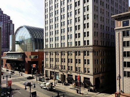 Philadelphia, Broad Street, Theater, Skyscraper