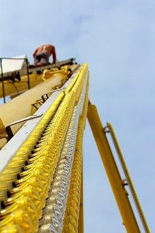 Construction, Ferris Wheel, Building, Man, Workers