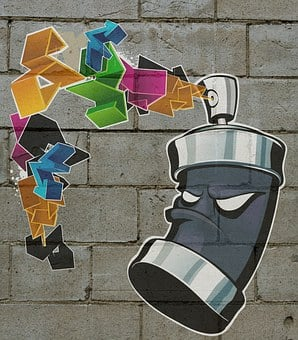 Graffiti, Bomb, Painting, Urban, Colors, Tag