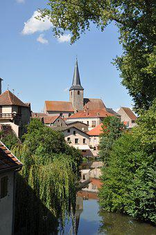 Alsace, Studs, House, Alsatian House, Windows, Village