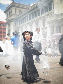 Kids, Street, Religion, Guatemala, Transparent 1