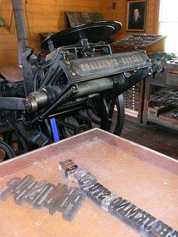 Print Shop, Letters, Steinbach