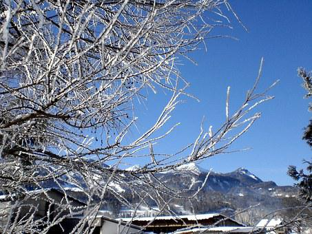 Winter, Wintry, Snow, Mountains, Snowy