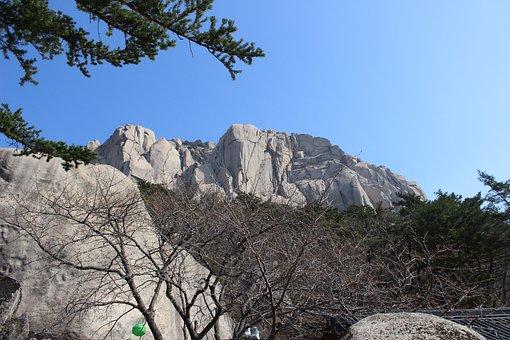 Mt Seoraksan, Logan, Ulsan Rock