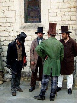 People, Docks, Port, Victorians, Vintage, Steam Punk