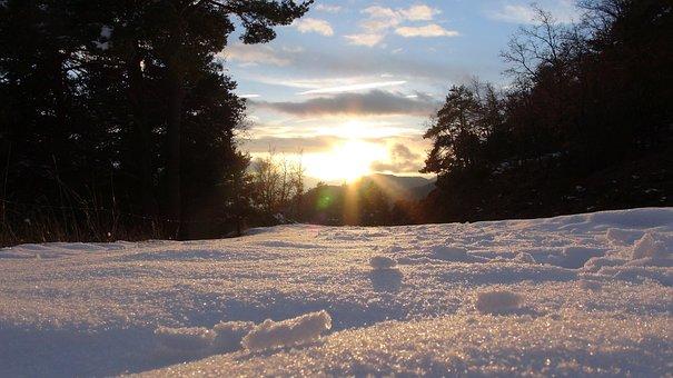 Snow, Winter, Snowy Landscape, Castellar De'hug