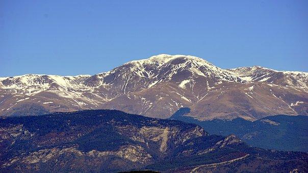 Snowy Mountain, The Puigmal, Peak, Cordillera