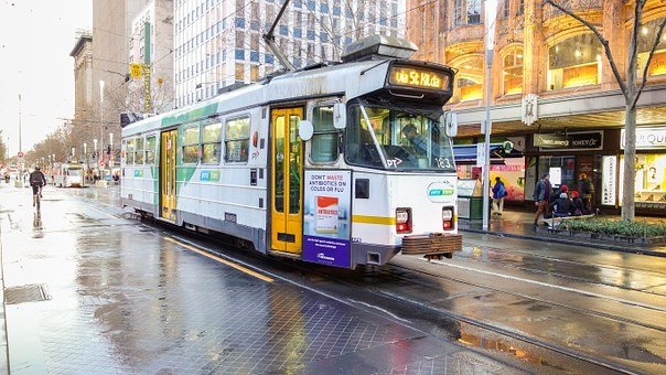 Tram, City, Urban, Transport, Transportation, Travel