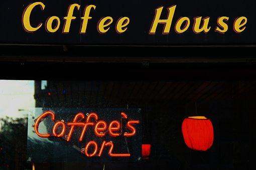 Coffee Shop, Third Place, Week End, Black Coffee