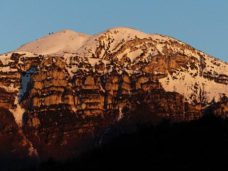 Alpenglühen, Monte Altissimo, Monte Altissimo Di Modena