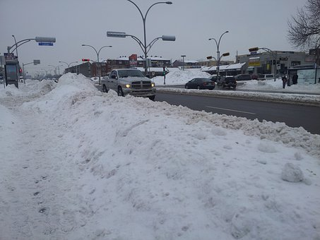 Road, Winter, City, Snow, Cold, Travel, Ice, Snowy