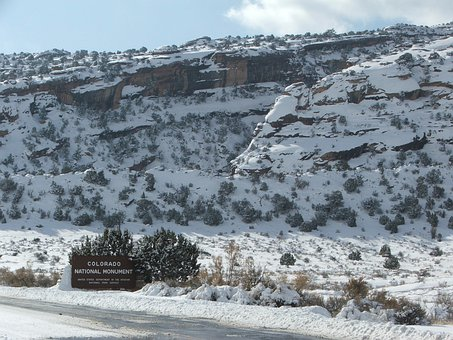 Mountains, Winter, Snow, Colorado, Cold, Season, White