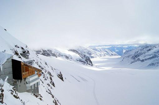 Jungfraujoch, Glacier, Mountains, Mountain Station