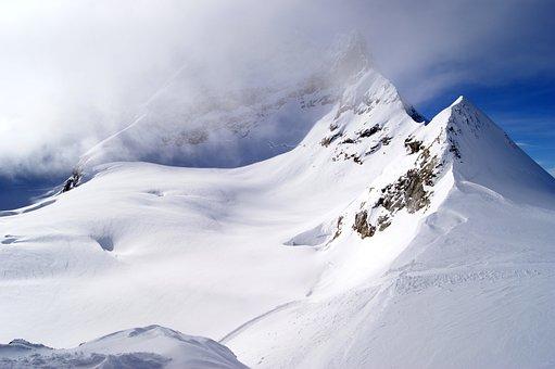 Jungfraujoch, Mountains, Snow Landscape, Snow, Winter