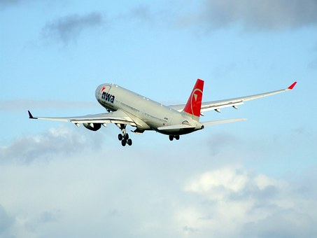 Airbus A330, Northwest Airlines, Airplane, Aircraft