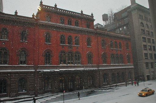 Winter, Snow, Public Theater, Cold, Season, Snowy