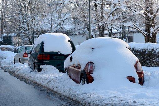 Winter, Snow, Wintry, White, Snowy, Auto, Pkw, Road