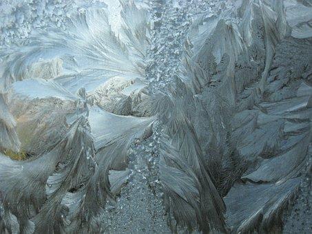 Frosty, Icy, Window, Pattern, Freeze, Snowy, Frost
