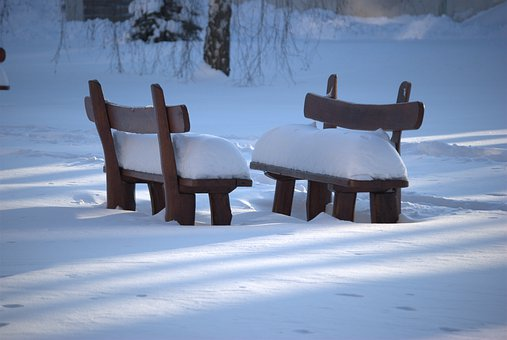 Silence, Winter, Snow, Snowy, Pad, Privacy, White