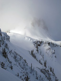 Mt Baker, Snowy Mountain, Winter, Backcountry, Skiing