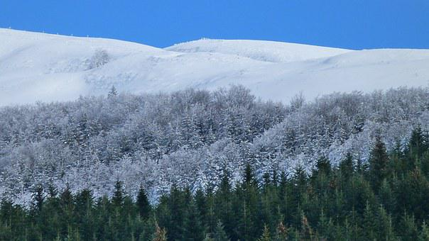Winter Landscape, Nature, Winter, Snow, Mountains
