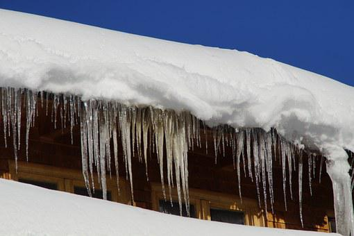 Icicle, Tap, Snowy, Window, Winter, Snow, Hut, Wintry