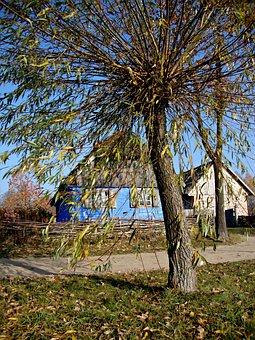 Sierpc, Poland, Open Air Museum, Autumn, Ethnography