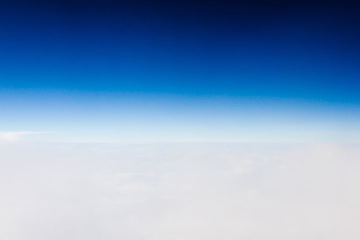 Above, Aerial, Air, Atmosphere, Background, Blue