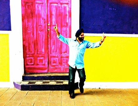 Sikh, Sikhism, Religion, Peace, Dance, Dancing, Happy