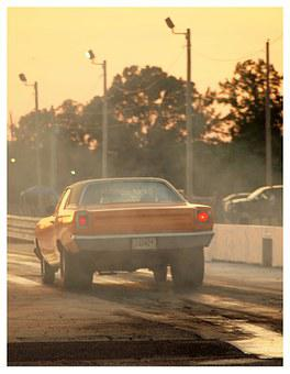Race Car, Drag Race, Drag Strip, Car, Race, Competition