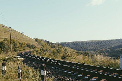Railway, The Way, Line, Interchange, Forward, Road