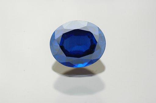 Gem, Sapphire, Jewel, Blue, Gemstone