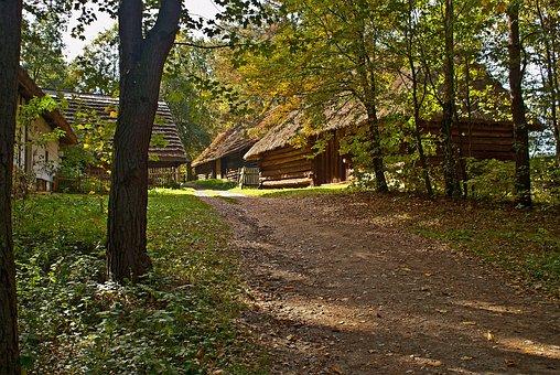Malopolska, Poland, Nature, Old Village, Old Houses