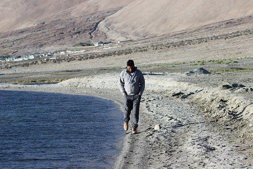 Pangong, Lake, Himalyan, Blue, Water, Leh, Ladakh