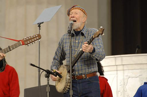Pete Seeger, Folk Music, Entertainer, Legend, Famous