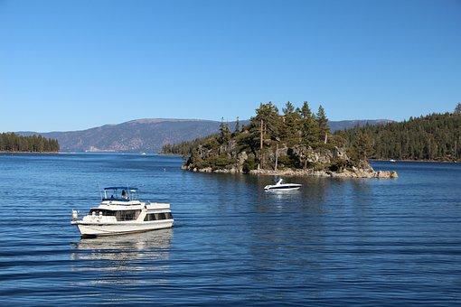Emerald Bay, Boats, Vessel, Ships, Boating, Lake Tahow