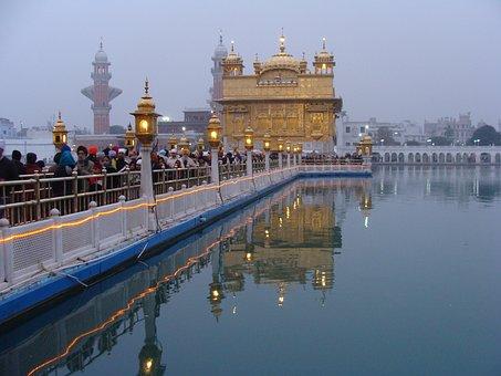 Golden Temple, Shrine, Temple, Sikhism, Sikhs, Religion