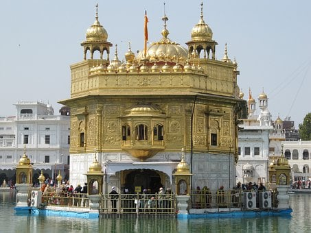 Temple, Golden, Religion, Religious, Sikhism, Sikhs