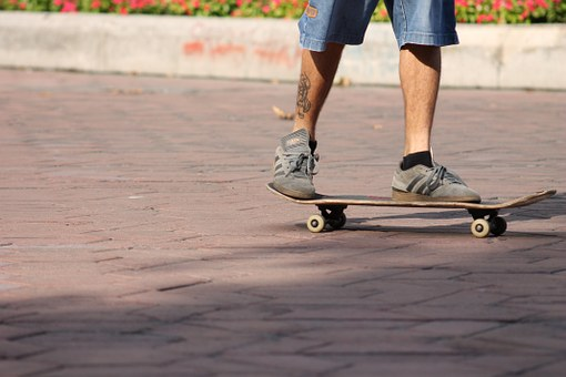 Skate, Skateboard, Extreme, Sports, Young