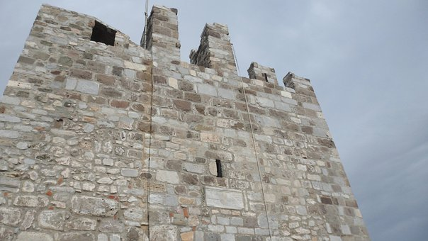 Castle, On, Castle Ruins, And In The, The Castle Image