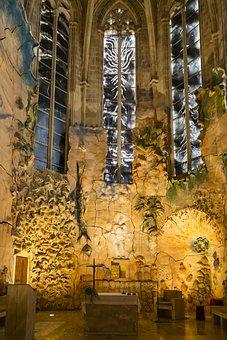 Gaudi, Palma, La Seu, Cathedral, Spain, Architecture
