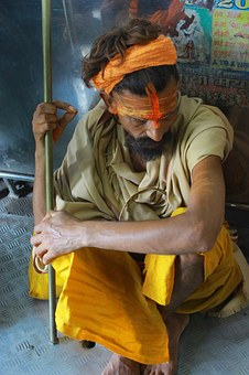 Sadhu, Indian, Monk, Holy Man, Religion, Asian, Prayer