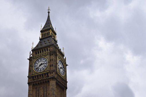 Architecture, Big Ben, Building, City, Clock