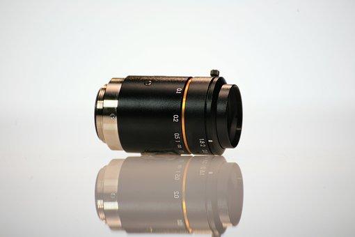 Lenses, C-mount, Cam, Magnifier, Lense, Photography