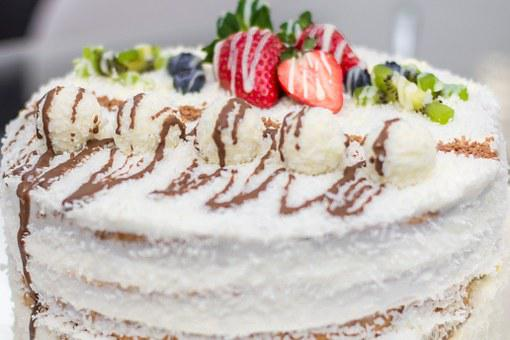 Cake, Strawberry, Delicious, Cream, Bake, Celebration
