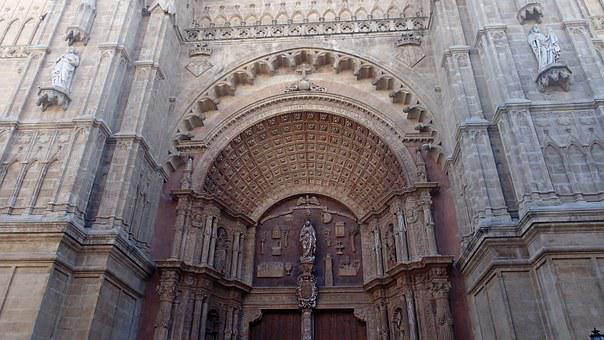 Palma Cathedral, Cathedral, Entrance, Portal