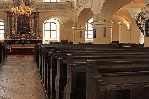 Church, Bench, The Ming, Oltar, Faith, Christ, Mr