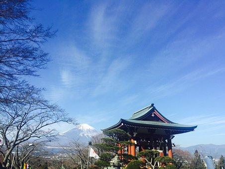 Mount Fuji, Clear Sky, Japan